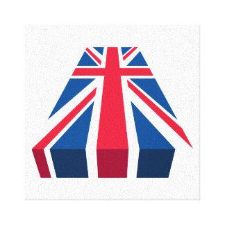 Union Jack, drapeau britannique dans 3D Toiles