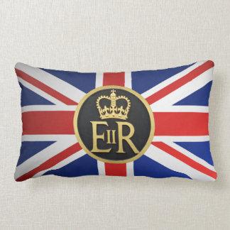 Union Jack en het Koninklijke Jubileum Lumbar Kussen