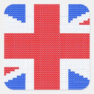 autocollants stickers carr s croix rouge. Black Bedroom Furniture Sets. Home Design Ideas