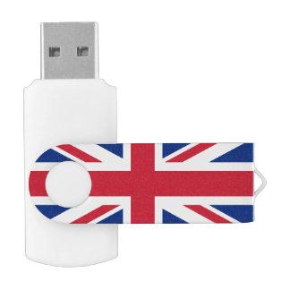 Union Jack Swivel USB 2.0 Stick