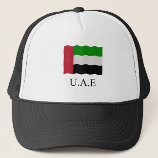 United Arab Emirates Flag Trucker Pet