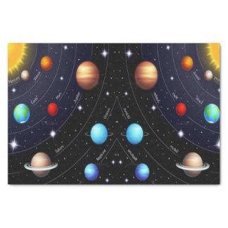 Univers décoratif de l'espace de papier de soie de