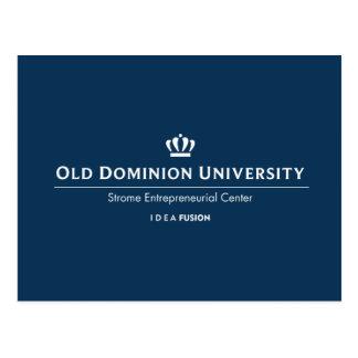 Université d'ODU Strome des affaires Carte Postale