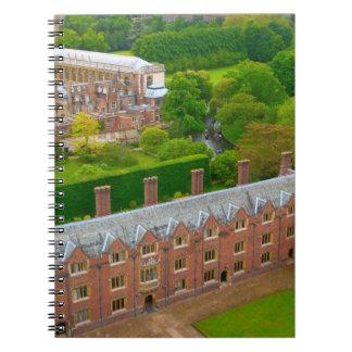 universités de Cambridge Carnet À Spirale