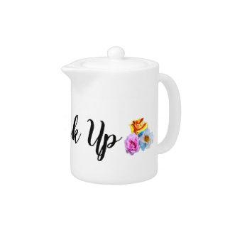 Up de boissons de petit pot de thé '