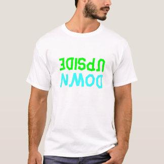 """Upside-down"" T-shirt"
