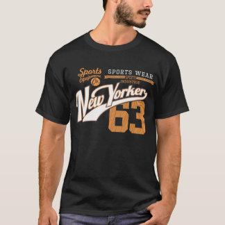 Usage de sports de Newyorkais T-shirt