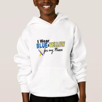 Usage de syndrome de Down I bleu et jaune pour ma