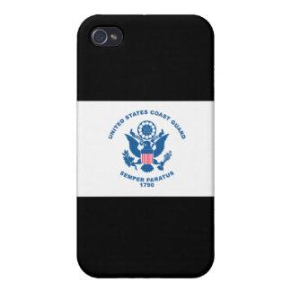 USCG - Drapeau de la garde côtière iPhone 4 Case