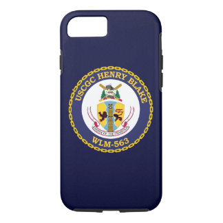 "USCGC Henry Blake WLM-563 ""bleu marine "" Coque iPhone 7"