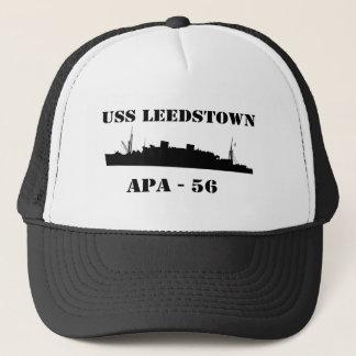 USS Leedstown - APA 56 - casquette