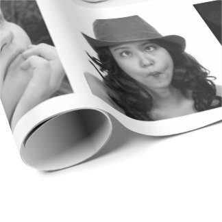 Uw 10-foto Omslag van de Gift van de Collage Cadeaupapier