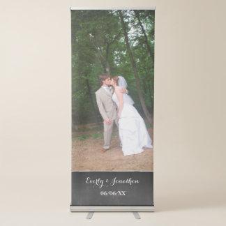 Uw Banner van het Huwelijk van de Foto Roll-up Banner