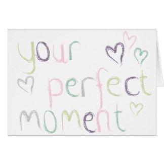 Uw Perfect Ogenblik Briefkaarten 0