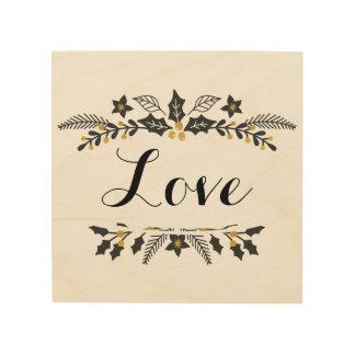 Vacances, décoration de signe d'amour
