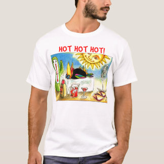 Vacances d'été drôles de corneille t-shirt