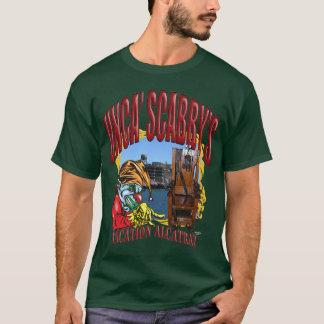 Vacances mauvaises Alcatraz de T-shirt de clown