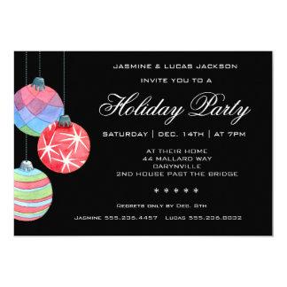 Vacances ou invitation de fête de fête de Noël