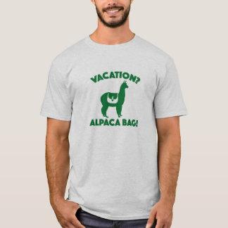 Vacances ? Sac d'alpaga ! T-shirt