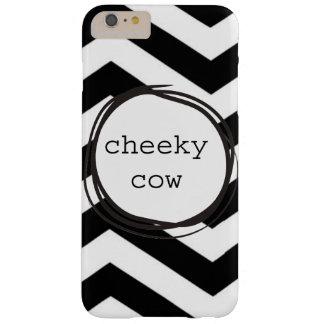 Vache effrontée drôle coque barely there iPhone 6 plus