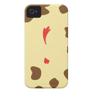 Vache et poulet étuis iPhone 4