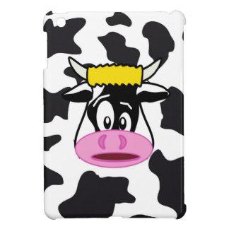 Vache folle drôle Taureau sur le motif Coques Pour iPad Mini