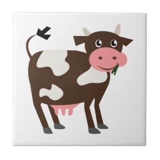 Vache laitière petit carreau carré