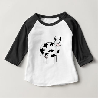 Vache mignonne t-shirt pour bébé