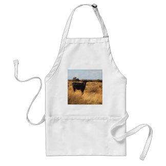 Vache sur la gamme tablier
