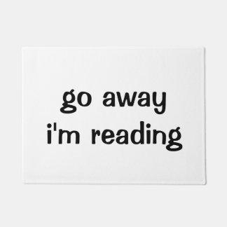 Vais loin je lis le paillasson