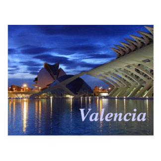 Valence par nuit carte postale