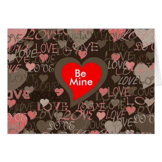 Valentine Carte De Vœux