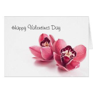 Valentines heureux carte de vœux