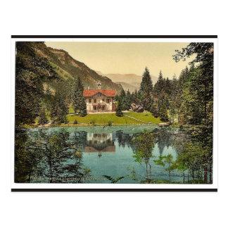 Vallée, Blausee, et pension de Kander, Bernese Obe Carte Postale