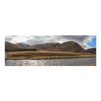 Vallée de Findhorn Impression Photo