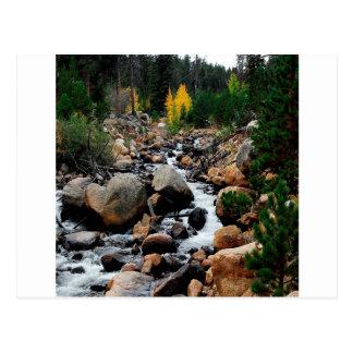Vallée de l'eau des rochers carte postale