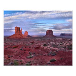Vallée de monument, Utah Impression Photo