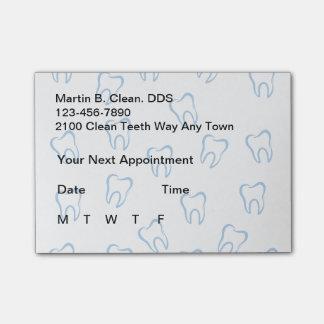 Van de bedrijfs tandarts Post post-it®- Nota's Post-it® Notes
