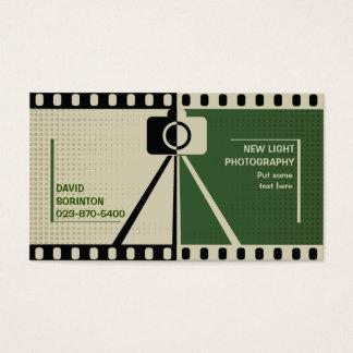 Van de de camerafotografie van de fotograaf het visitekaartjes