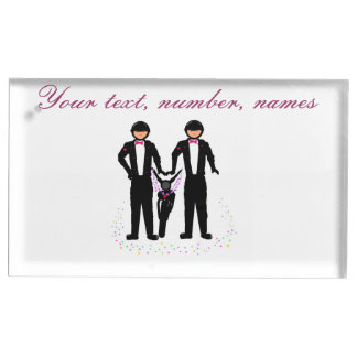 Van de het huwelijks de Burgerlijke Ceremonie van  Tafelnummer Houder