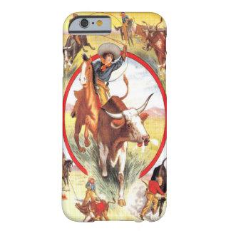 """Van de """"vintage Veedrijfster"""" Westerne iPhone 6 Barely There iPhone 6 Hoesje"""