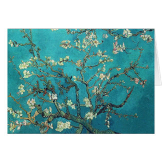 Van Gogh Almond komt Wenskaart tot bloei