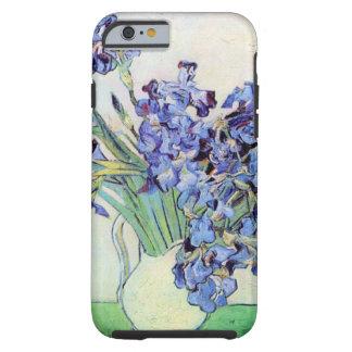 Van Gogh de Vaas van het Stilleven met Irissen, Tough iPhone 6 Hoesje