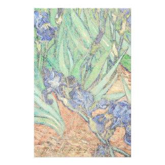 Van Gogh irise la papeterie d'impressionisme