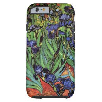 Van Gogh Irises, het Vintage PostArt. van het Tough iPhone 6 Hoesje