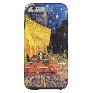 Van Gogh Night het Terras van de Koffie op de Tough iPhone 6 Hoesje