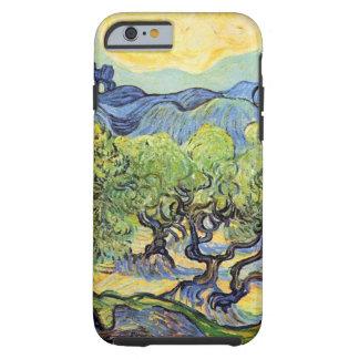 Van Gogh Olijfbomen, het Vintage Art. van het Tough iPhone 6 Hoesje