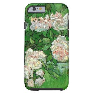 Van Gogh Pink nam Bloemen, het Vintage Art. van Tough iPhone 6 Hoesje