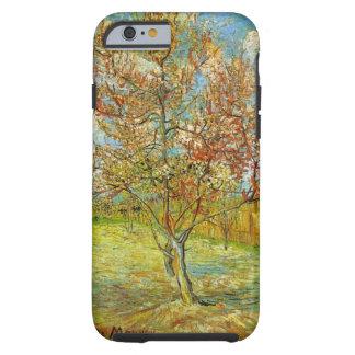 Van Gogh Pink Perzikboom in Bloesem, Vintage Art. Tough iPhone 6 Hoesje
