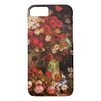 Van Gogh Poppies, Pioenen en Chrysanten iPhone 7 Hoesje